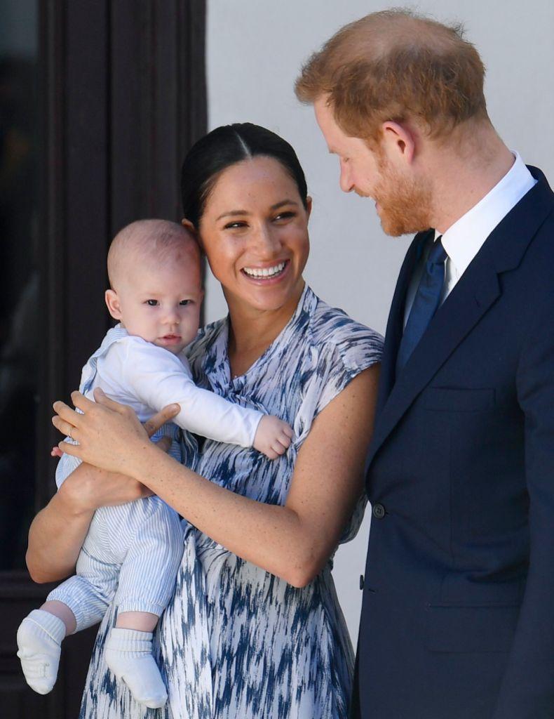 Prince Harry, Meghan Markle Post Rare Photo on Archie's Birthday