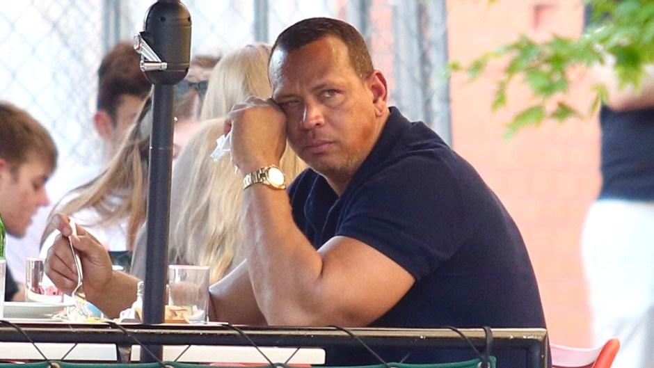 Alex Rodriguez Looks Sad In NYC as Jennifer Lopez and Ben Affleck's Romance Heats Up