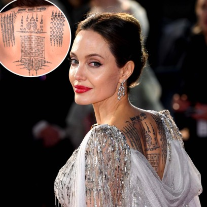 Angelina Jolies Tattoo Guide