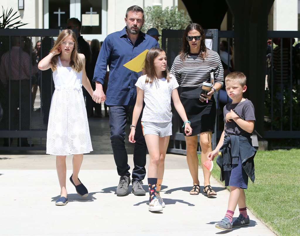 Ben Affleck Reunites With Jennifer Garner at Daughter Graduation After Jennifer Lopez PDA