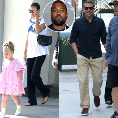 Irina Shayk and Bradley Cooper Spotted Together With Daughter Lea Amid Model's Romance With Kanye West