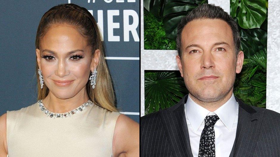 Jennifer Lopez Spotted Wearing Ben Affleck Clothes