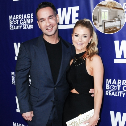 'Jersey Shore' Star Mike and Lauren's Nursery and Playroom for Baby Romeo Is 'Fit for a King': Take a Tour!