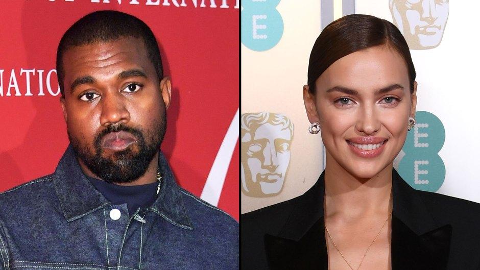 Kanye West and Irina Shayk Got Closer Following Kim Kardashian Split