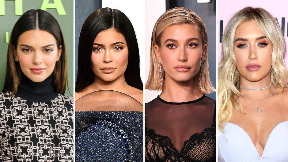 Kendall Jenner, Kylie Jenner and Hailey Bieber Turn Up for Stassie Karanikolaou Birthday