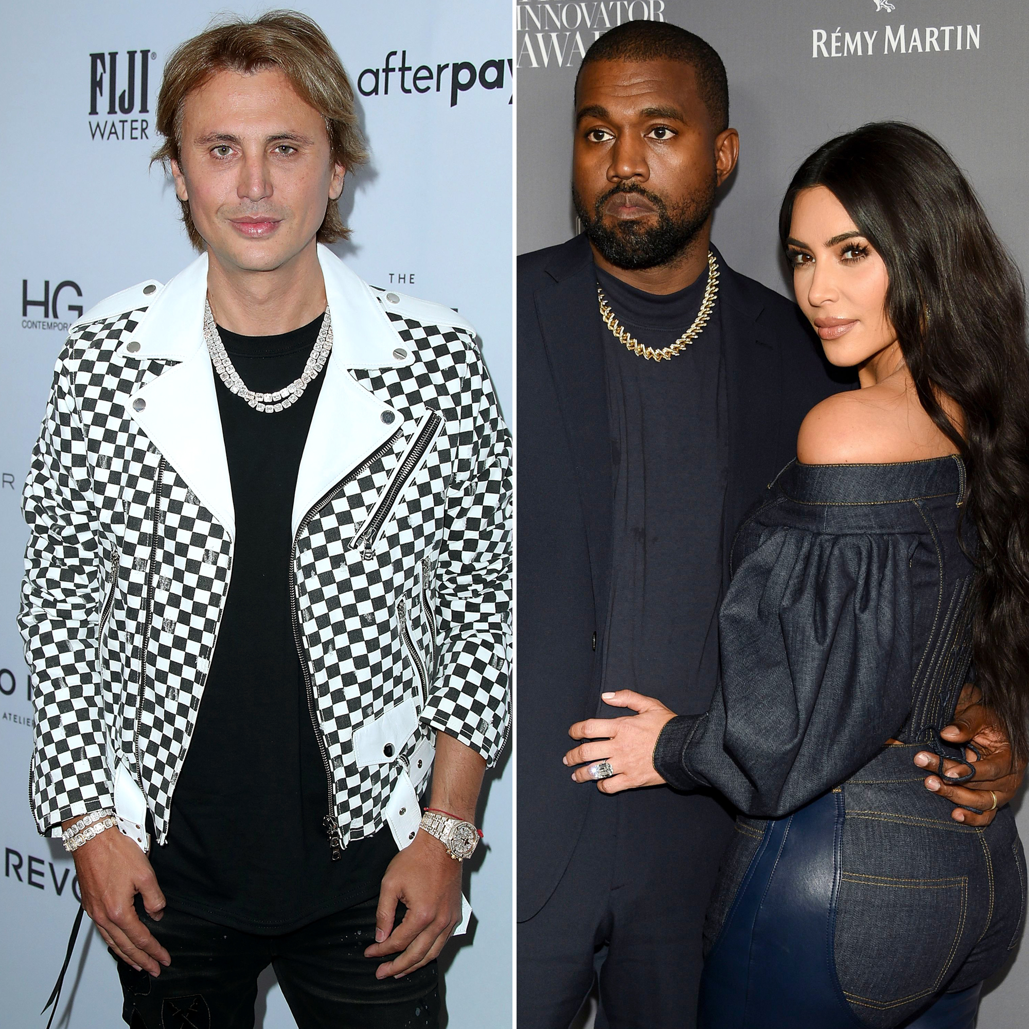 Kim K's BFF Jonathan Cheban Says She's Not Dating Amid Divorce From Kanye West