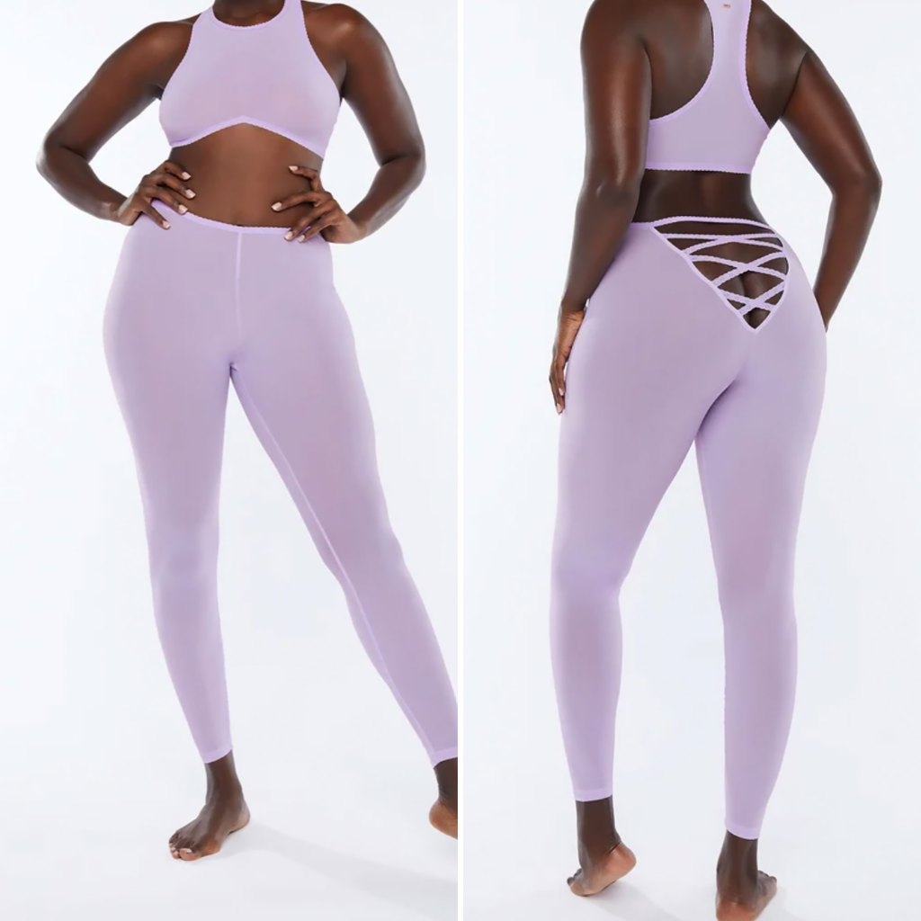 Rihannas New Crotchless Workout Tights Get Roasted By Fans