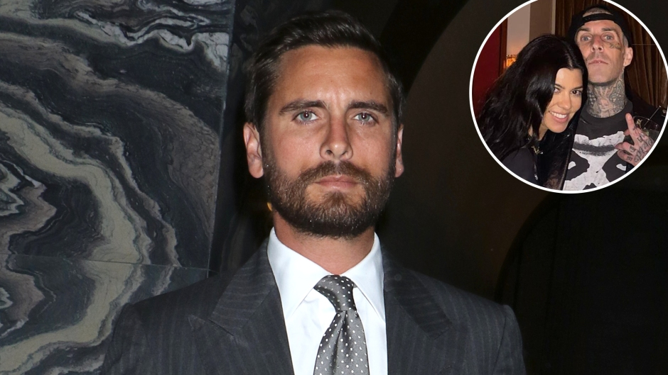 Scott Disick Reveals He Has Given Kourtney Kardashian and Travis Barker His 'Blessing' as a Couple
