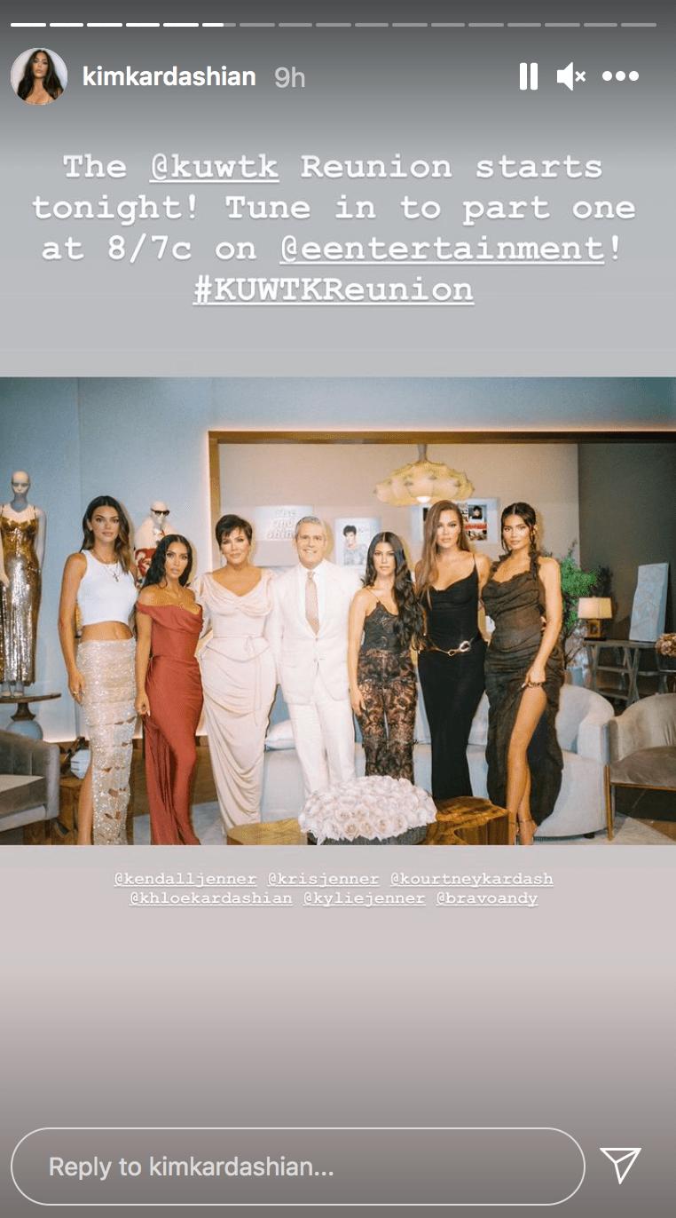 Kim Kardashian Reunion Photo