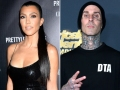 Kourtney Kardashian Poses for a Steamy Photo While in Bed With Boyfriend Travis Barker