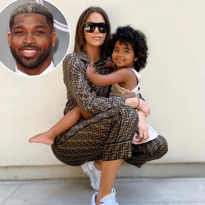 Tristan Thompson Leaves Flirty Comment Khloe Kardashian Daughter Trues Photos Post Split