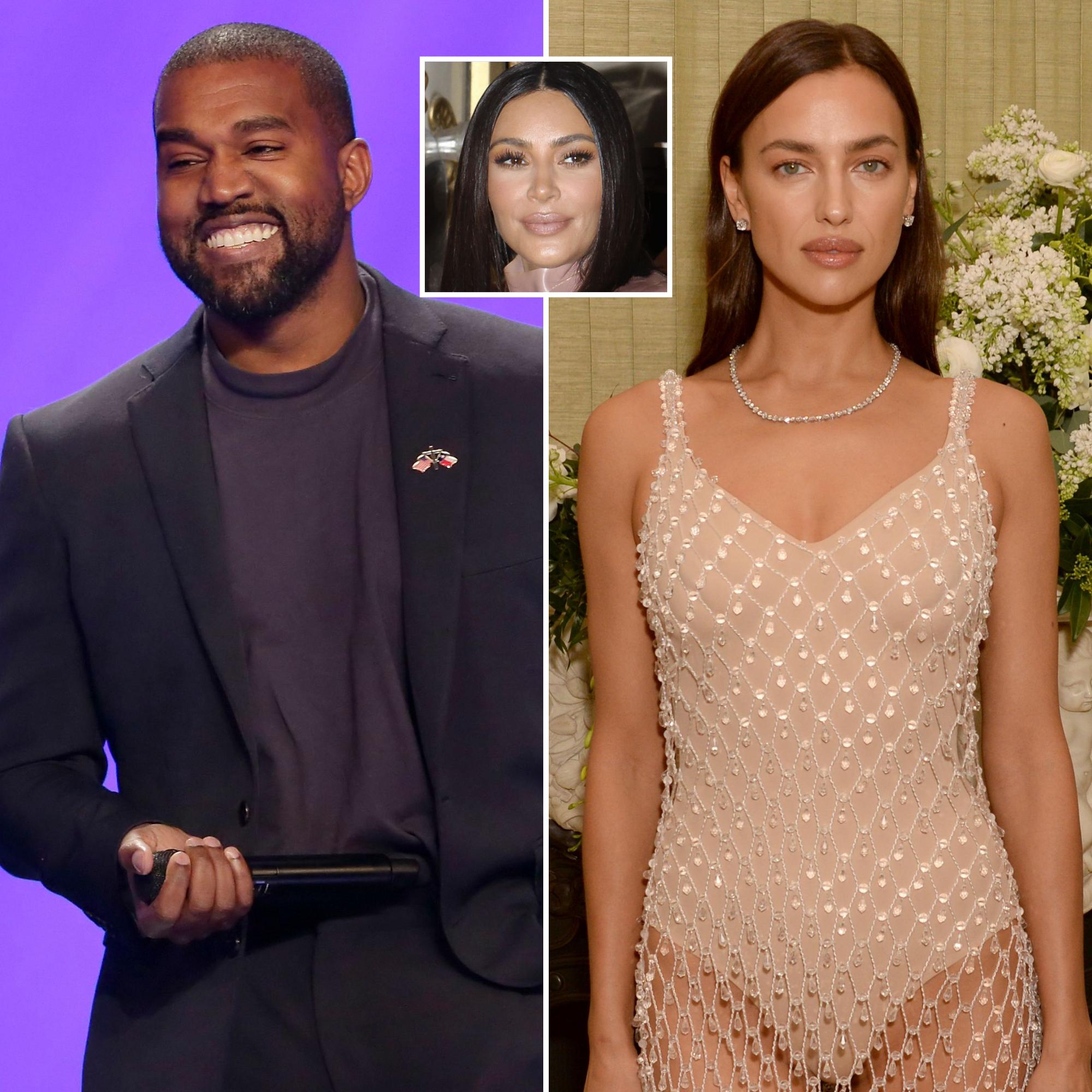 Kim Kardashian Not Surprised By Kanye West Dating Irina Shayk