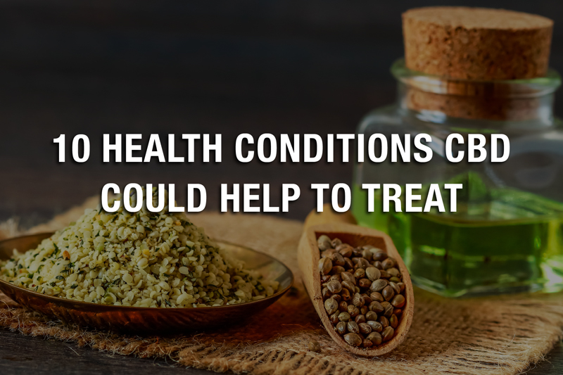 10 health conditions that CBD can help treat
