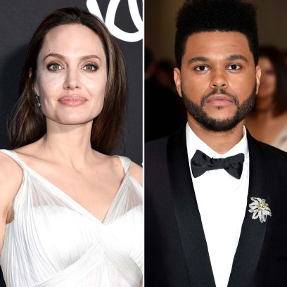 Angelina Jolie The Weeknd Spotted Out Together