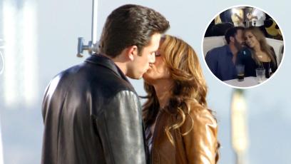 Ben Affleck Grabs Jennifer Lopez's Butt on Yacht in St. Tropez