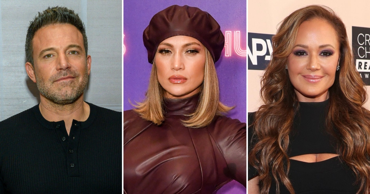 Ben Affleck and Jennifer Lopez cuddle at the Leah Remini party