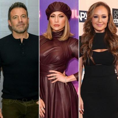 Ben Affleck, Jennifer Lopez Cuddle Up at Leah Remini Party