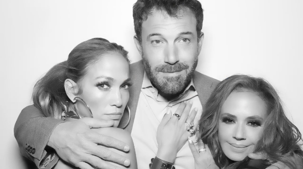 Ben Affleck and Jennifer Lopez Cuddle Up at Leah Remini's Birthday Party
