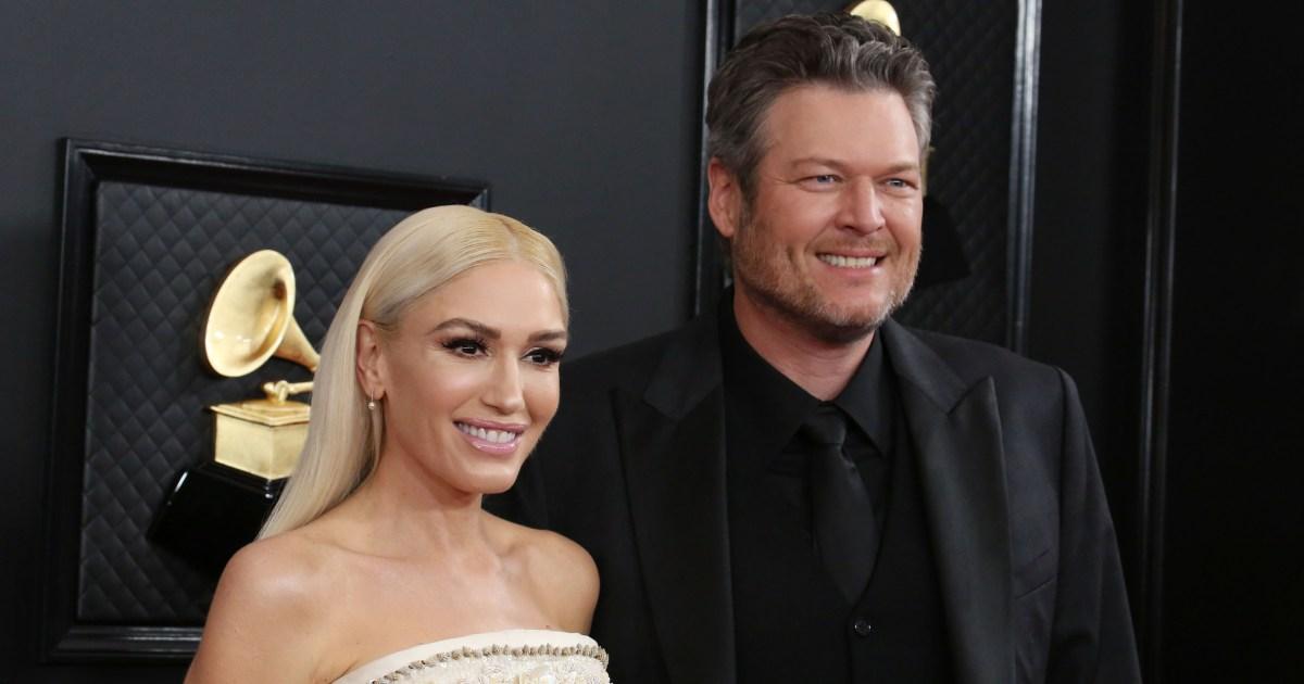 Gwen Stefani and Blake Shelton's wedding was perfect