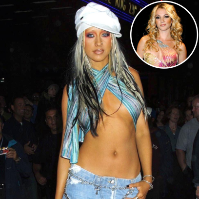 See Photos of Your Favorite Stars Going Braless in the Early 2000s! Britney, Christina and More