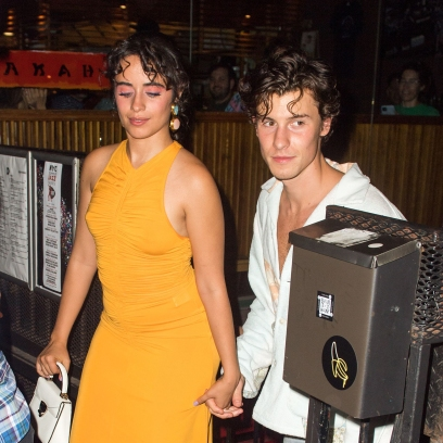 Camila Cabello Stuns in Yellow Dress on Date Night With Shawn Mendes in NYC