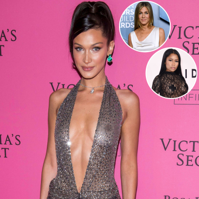 Photos of Your Favorite Celebrities Going Braless! Bella Hadid, Jennifer Aniston and More