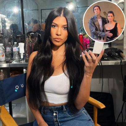 Is Kourtney Kardashian Wearing an Engagement Ring? Sparks Rumors