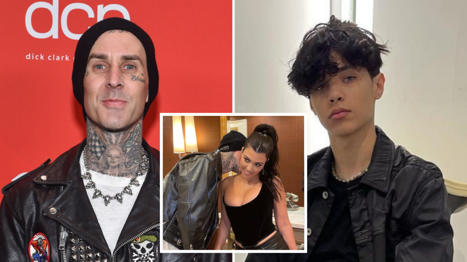Travis Barker's Son Reacts to His Sexy Vegas Photos With Kourtney