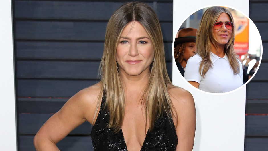 Jennifer Aniston Braless: Photos of the Actress Proving She Doesn't Need a Bra