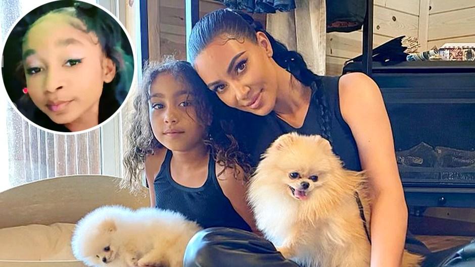 Kim Kardashian Asks TikTok Star That Girl Lay Lay to Erase Video North West
