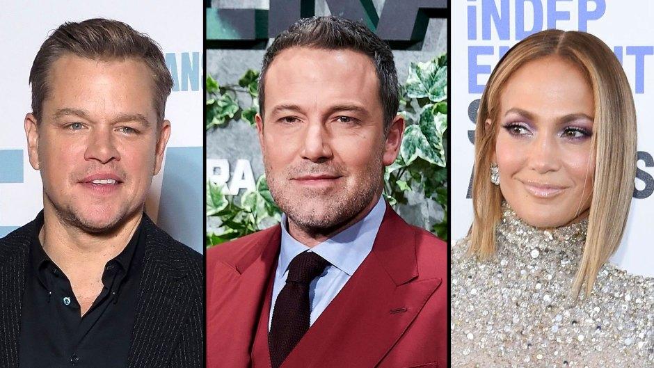 Matt Damon Happy for Ben Affleck and Jennifer Lopez Amid Rekindled Romance
