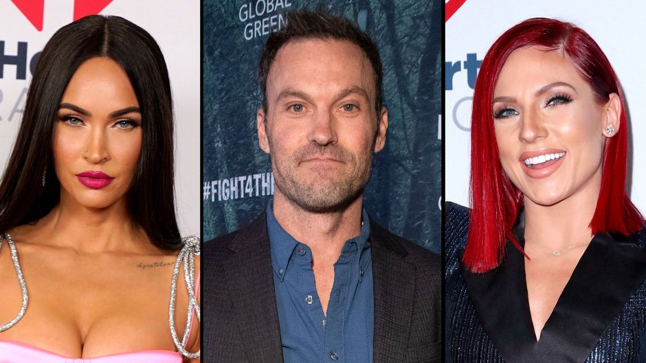 Megan Fox Reacts to Brian Austin Green Kissing Sharna Burgess