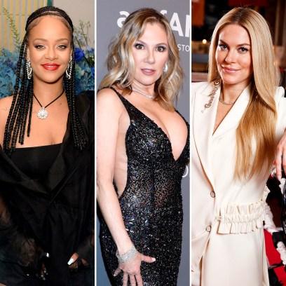 Rihanna Trolls RHONY Ramona Singer Shading Leah McSweeney Clothing Line