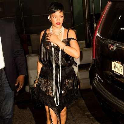 Rihanna Wears Lingerie During NYC Date Night Without A$AP Rocky