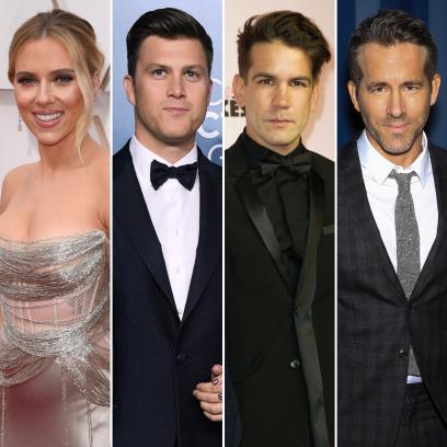 Scarlett Johansson's Engagement Rings Colin, Romain and Ryan