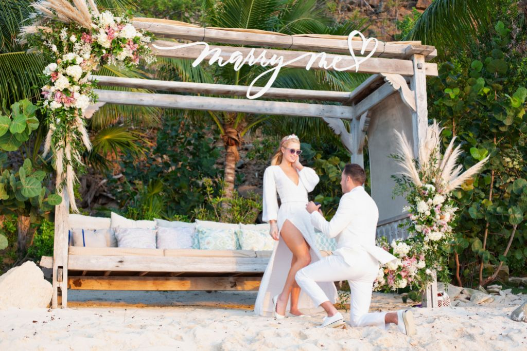 Paris Hilton Pregnant Fiance Carter Reum Engaged