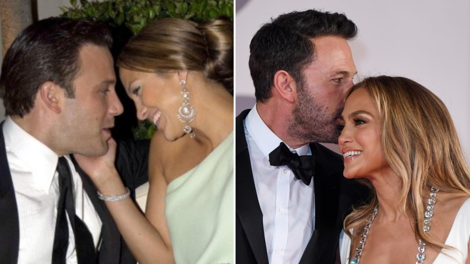 Ben Affleck and Jennifer Lopez's Cutest Photos Then and Now