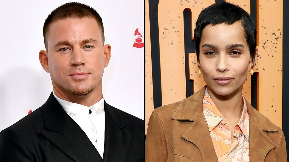 Channing Tatum Hints At Zoe Kravitz Romance After Following Four of Her Fan Accounts