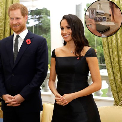 Meghan Markle Prince Harry Seemingly Gives 1st Glimpse of Daughter Lilibet