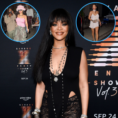 No Bra Beauty Rihanna Proves She's Never Shy When It Comes to Going Braless