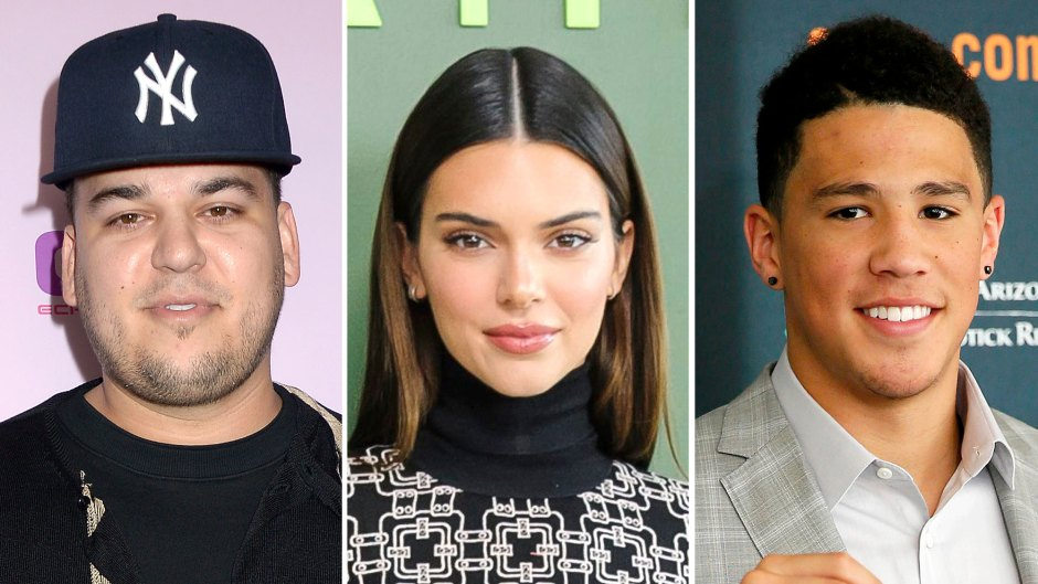 Rob Kardashian Shows Support to Kendall Jenner's BF Devin Booker After Tokyo Olympics Victory