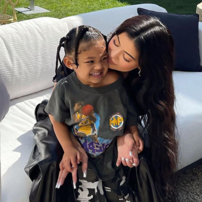 Stormi Webster Can't Wait to Be Big Sister After Kylie Pregnancy