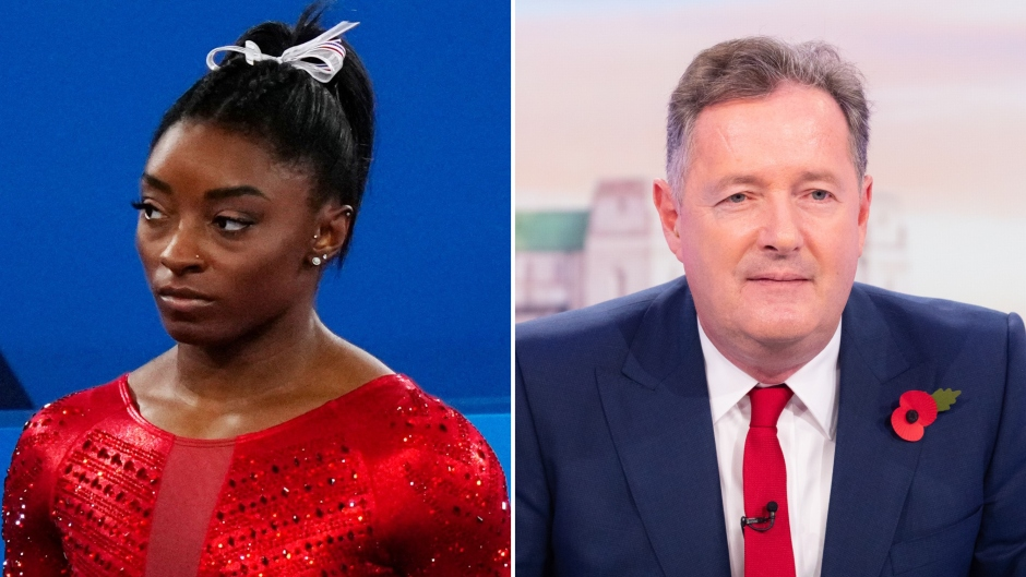 Simone Biles Shades Piers Morgan After 'Quitting' Comment