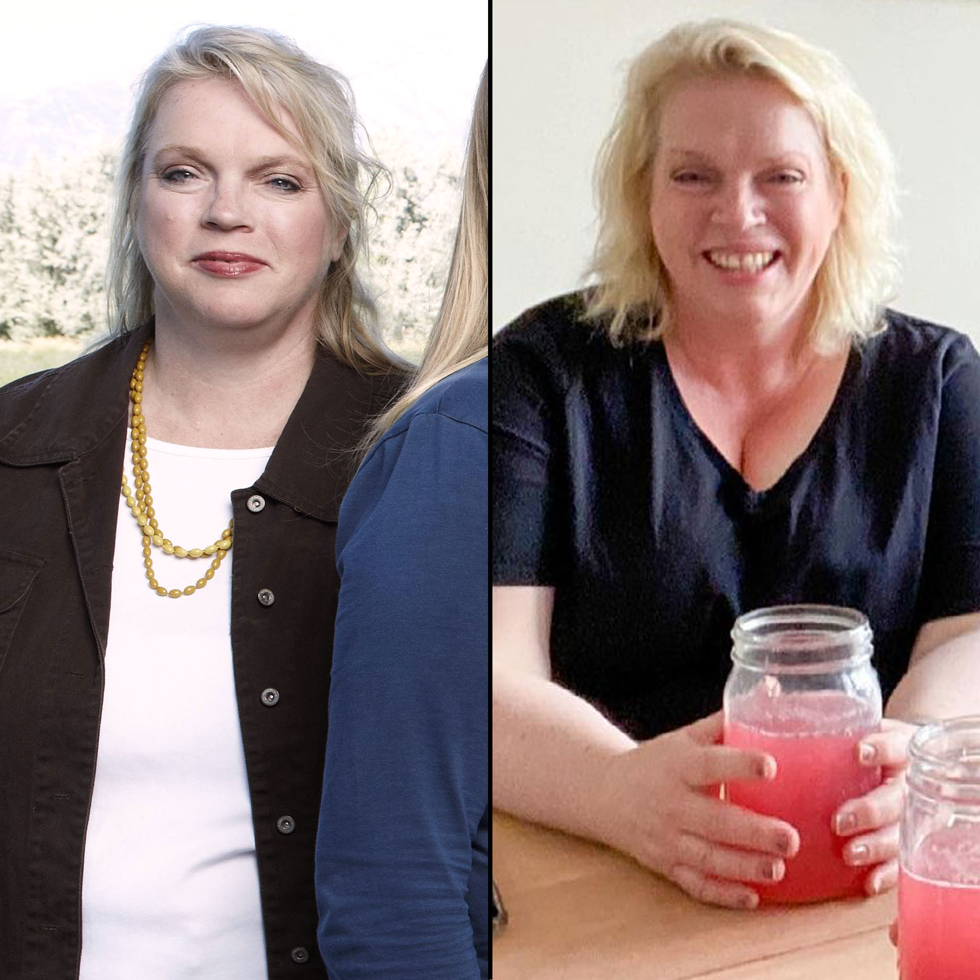 Sister Wives' Janelle Brown Flaunts Weight Loss in Side-By-Side Photos
