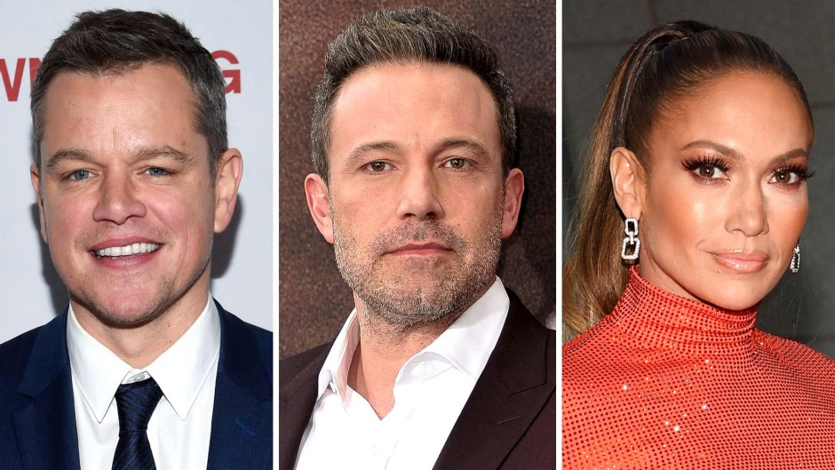 Tagging Along Matt Damon Joins Bennifer Romantic Malibu Stroll