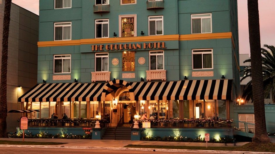 Live Like a Celebrity With a Visit to the Luxurious The Georgian Santa Monica Hotel