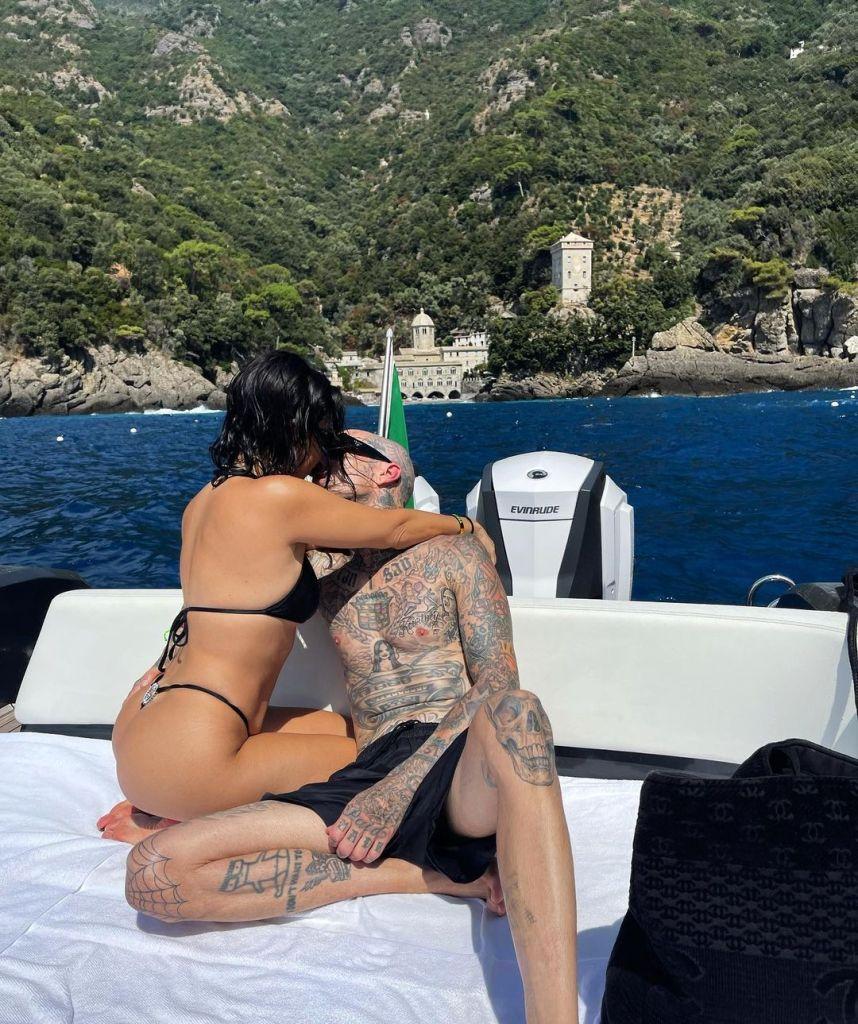 Venice Lovers! Kourtney Kardashian and Boyfriend Travis Barker Pack On the PDA in Italy