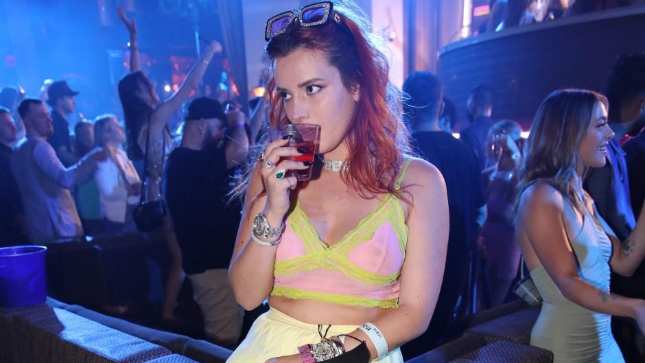 Bella Thorne, Fiance Benjamin Mascolo, Tayshia Adams and More Enjoy Night Out at Wynn Las Vegas