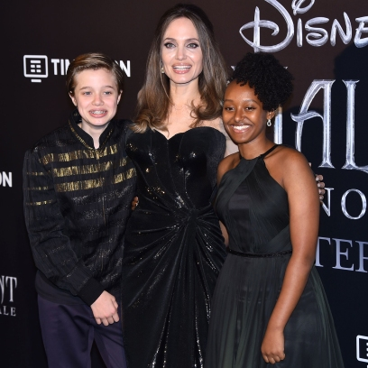 Angelina Jolie Shares Rare Photos of Her and Brad Pitt's Kids Zahara and Shiloh After Joining Instagram