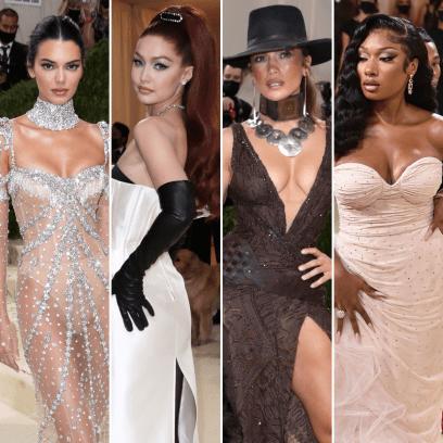 2021 Met Gala Photos Kendall Jenner Gigi Hadid Jennifer Lopez Megan Thee Stallion